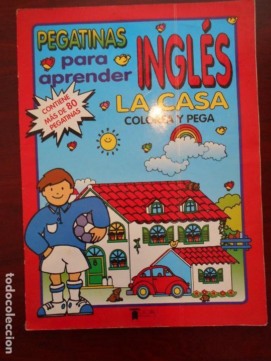 Pegatinas Para Aprender Ingles La Casa Colorea Y Pega Leer Descripcion P1