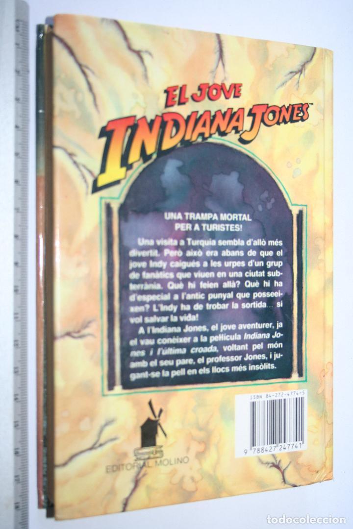 Libros de segunda mano: EL JOVE INDIANA JONES I LA CIUTAT SECRETA (Les Martin) *** Editorial MOLINO *** - Foto 2 - 109579223