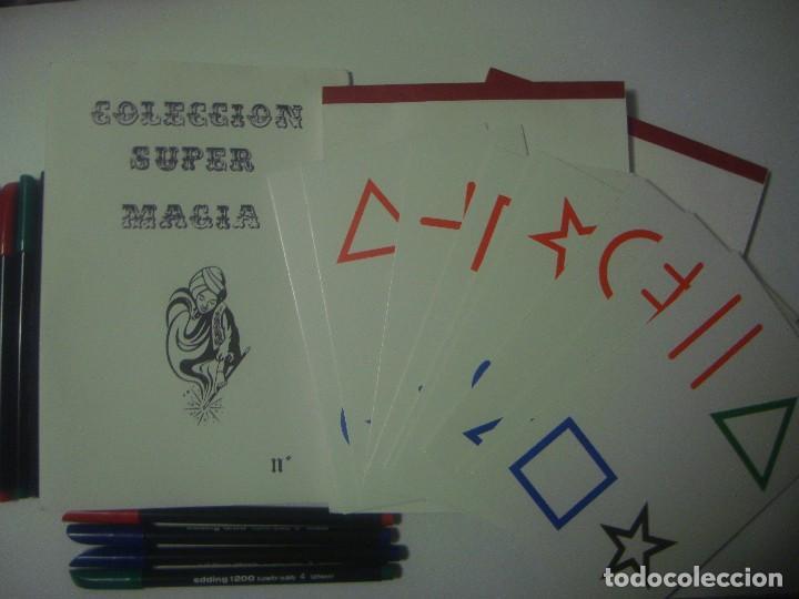 LIBRERIA GHOTICA. COLECCION SUPER MAGIA. 1980. TELEPATIA EN COLOR. INCLUYE JUEGO. FOLIO MENOR. (Libros de Segunda Mano - Parapsicología y Esoterismo - Otros)