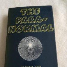 Libros de segunda mano: THE PARANORMAL, EN INGLÉS, 1978, LO PARANORMAL, POR STAN GOOCH, ISBN 0704503077. Lote 109632739
