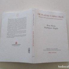 Libros de segunda mano: MARÍA ROSA RODRÍGUEZ MAGDA. DE PLAYAS Y ESPECTROS. ENSAYO SOBRE PENSAMIENTO CONTEMPORÁNEO. RMT85322. Lote 109744747