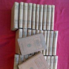 Libros de segunda mano: TUBAL 33 TOMOS BALMES OBRAS COMPLETAS 1925 EXLIBRIS GARRIDO BARRERA (FALTA EL TOMO I) 15 KILOS. Lote 109745079