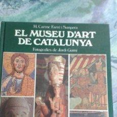 Libros de segunda mano: EL MUSEU D'ART DE CATALUNYA. Lote 109750899