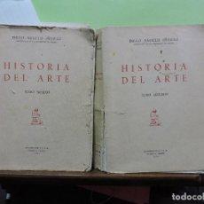 Libros de segunda mano: HISTORIA DEL ARTE. TOMO 1 Y 2. ANGULO IÑIGUEZ, DIEGO. MADRID 1960. Lote 109761119