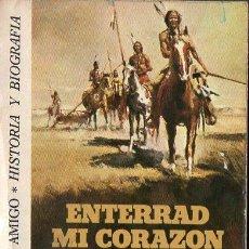 Libros de segunda mano: DEE BROWN : ENTERRAD MI CORAZÓN EN WOUNDED KNEE (BRUGUERA, 1976). Lote 109795267