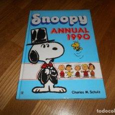 Libros de segunda mano: ANUARIO AGENDA SNOOPY ANNUAL 1990 BY CHARLES M. SCHULZ NUEVO DE ALMACEN. Lote 109816287