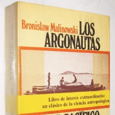 Libros de segunda mano: LOS ARGONAUTAS DEL PACIFICO OCCIDENTAL - BRONISLAW MALINOWAKI *. Lote 109863287