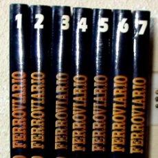 Libros de segunda mano: MODELISMO FERROVIARIO - 7 TOMOS COMPLETO + REGLA - ED. GRANADA 1993 - VER INDICES Y FOTOS. Lote 109867931