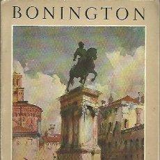Libri di seconda mano: R. P. BONINGTON, 1802-1828. - GOBIN, MAURICE.. Lote 109885734