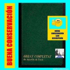 Libros de segunda mano: OBRAS COMPLETAS DE AGUSTÍN DE FOXÁ - TOMO I - POESÍA, TEATRO Y NOVELA - PRENSA ESPAÑOLA - 1963. Lote 109998371