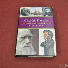 Libros de segunda mano: CHARLES DARWIN ORIGINS AND ARGUMENTS - BILL PRICE - CIB. Lote 110021679
