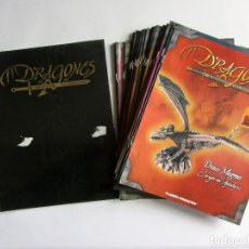 Libros de segunda mano: DRAGONES Y CRIATURAS FANTASTICAS PLANETA DEAGOSTINI 26 FASCÍCULOS Y SUS TAPAS (SIN DESPRECINTAR) VER. Lote 110026523