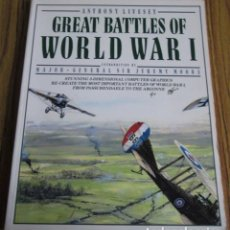 Libros de segunda mano: GREAT BATTLES OF WORLD WAR I --- ANTHONY LIVESEY 1989. Lote 110028415