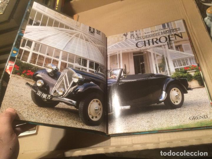 Libros de segunda mano: Antiguo libro les grandes marques Citroen por Jean-Pierre Daulia en francés - Foto 4 - 110062351