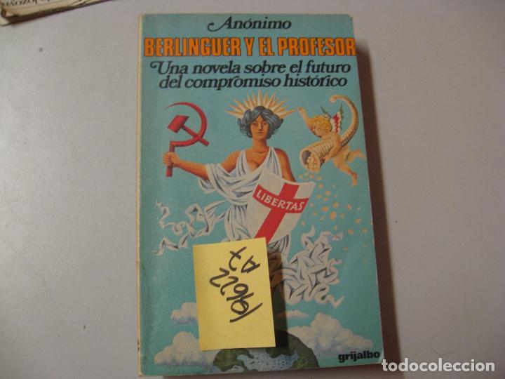berlinguer y el profesor una novela sobre el fu - Comprar en ...