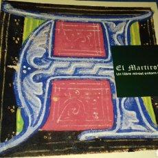 Libros de segunda mano: EL MARTIROLOGI. UN LLIBRE MINIAT ENTORN DEL 1400. MUSEU D'ART DE GIRONA. 1993.. Lote 144074118