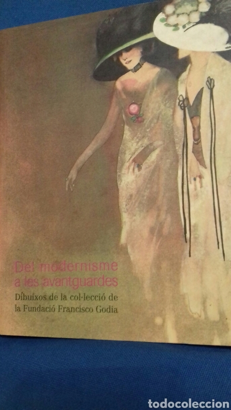DEL MODERNISME A LES AVANTGUARDES. DIBUIXOS DE LA COL·LECCIÓ FRANCISCO GODIA. LA CAIXA. 2003 (Libros de Segunda Mano - Bellas artes, ocio y coleccionismo - Otros)