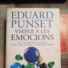 Libros de segunda mano: VIATGE A LES EMOCIONS - EDUARD PUNSET - EN CATALÀ. Lote 110117423