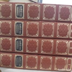 Libros de segunda mano: MIGUEL DE CERVANTES. EL INGENIOSO DON QUIJOTE DE LA MANCHA. 4 TOMOS. EDITORIAL AGUILAR. LEER. Lote 110166055