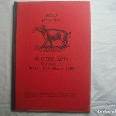Libros de segunda mano: LIBRERIA GHOTICA. MARKO: EL PUERCO SABIO.VOLUMEN 1.1988-1989.FOLIO. MUY ILUSTRADO.MAGIA.. Lote 110221767