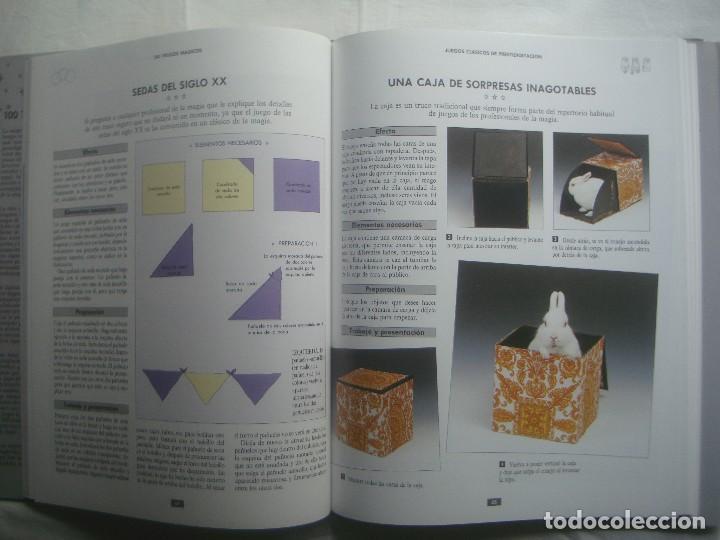 Libros de segunda mano: LIBRERIA GHOTICA. 100 TRUCOS MAGICOS. 1993. EDITORIAL LIBSA. FOLIO. MUY ILUSTRADO.MAGIA. - Foto 2 - 110224531