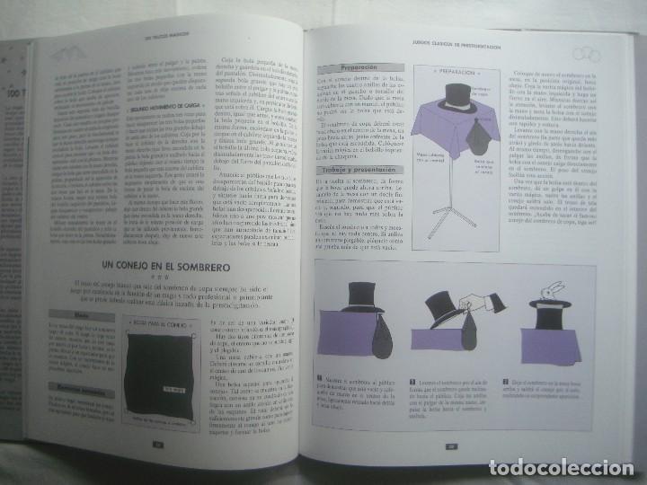 Libros de segunda mano: LIBRERIA GHOTICA. 100 TRUCOS MAGICOS. 1993. EDITORIAL LIBSA. FOLIO. MUY ILUSTRADO.MAGIA. - Foto 3 - 110224531