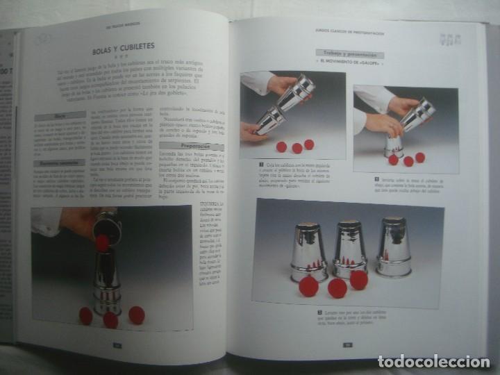 Libros de segunda mano: LIBRERIA GHOTICA. 100 TRUCOS MAGICOS. 1993. EDITORIAL LIBSA. FOLIO. MUY ILUSTRADO.MAGIA. - Foto 4 - 110224531
