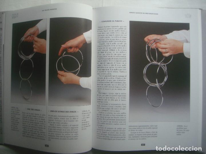 Libros de segunda mano: LIBRERIA GHOTICA. 100 TRUCOS MAGICOS. 1993. EDITORIAL LIBSA. FOLIO. MUY ILUSTRADO.MAGIA. - Foto 5 - 110224531