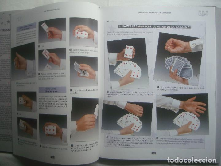 Libros de segunda mano: LIBRERIA GHOTICA. 100 TRUCOS MAGICOS. 1993. EDITORIAL LIBSA. FOLIO. MUY ILUSTRADO.MAGIA. - Foto 6 - 110224531