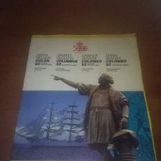 Libros de segunda mano: 500 CENTENARIO COLON. GRAN REGATA COLON 92. EST13B3. Lote 110285123