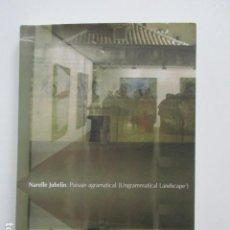 Libros de segunda mano: PAISAJE AGRAMATICAL, NARELLE JUBELIN, (UNGRAMMATICAL LANDSCAPE) COMO NUEVO. Lote 110296135