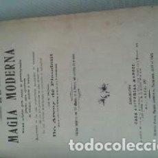Libros de segunda mano: ILUSIONISMO.MAGIA.LIBROS. LAS MARAVILLAS DE LA MAGIA MODERNA. Lote 110442347