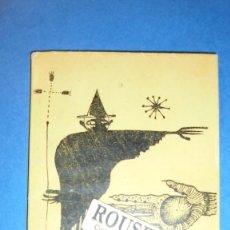 Libros de segunda mano: VANGUARDIAS - JOAN BROSSA - DRAGOLÍ - 1ª EDC. EDC. DAU AL SET 1950 . BONITA DEDICATORIA A PLUMA DE . Lote 110446887