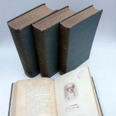 Libros de segunda mano: HISTORIA DE LA FACULTAD DE MEDICINA Y SUS ESCUELAS. 4 TOMOS (ELISEO CANTÓN) CONI, 1921. Lote 110470774