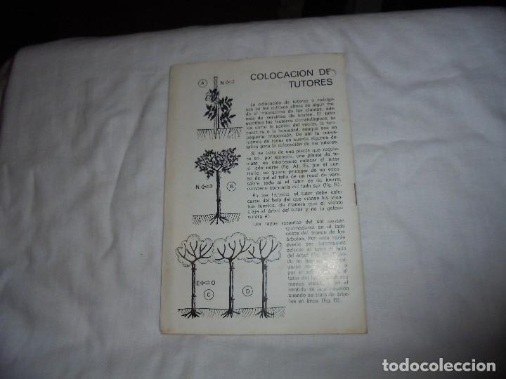 Libros de segunda mano: HOJAS DIVULGADORAS.ACUMULACION DE PESTICIDAS EN EL SUELO.FERNANDO BESNIER ROMERO.-1974 - Foto 4 - 110485951