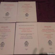 Libros de segunda mano: LIBROS REAL ACADEMIA DE LA CULTURA VALENCIANA. Lote 110496404