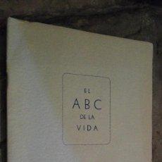 Libros de segunda mano: EL ABC DE LA VIDA. Lote 110540091