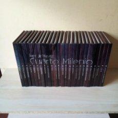 Libros de segunda mano: IKER JIMENEZ - CUARTO MILENIO 2ª COLECCION COMPLETA 25 LIBROS + 25 DVD . Lote 110654147