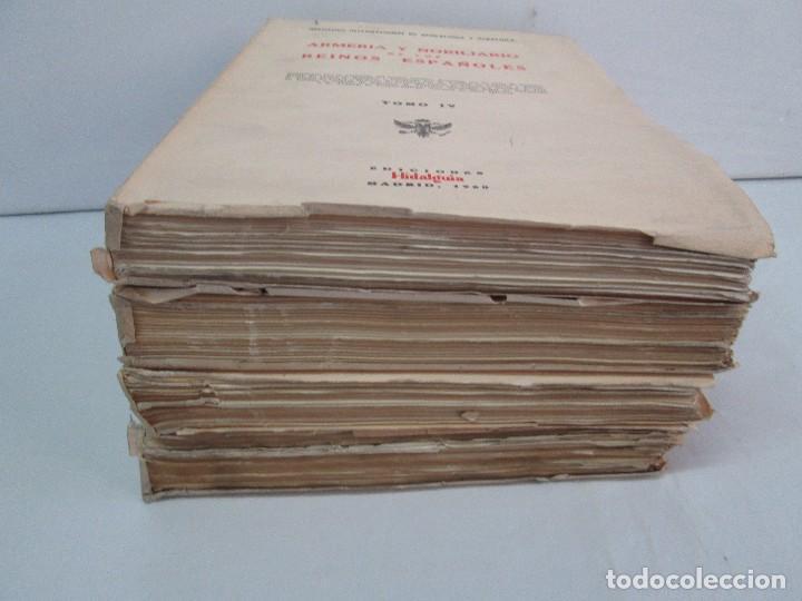 Libros de segunda mano: ARMERIA Y NOBILIARIO DE LOS REINOS ESPAÑOLES. TOMO I-II-III-IV. EDICIONES HIDALGUIA. VER FOTOS - Foto 3 - 110671631
