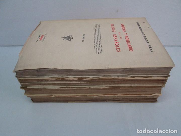 Libros de segunda mano: ARMERIA Y NOBILIARIO DE LOS REINOS ESPAÑOLES. TOMO I-II-III-IV. EDICIONES HIDALGUIA. VER FOTOS - Foto 4 - 110671631