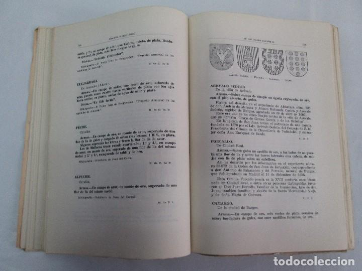 Libros de segunda mano: ARMERIA Y NOBILIARIO DE LOS REINOS ESPAÑOLES. TOMO I-II-III-IV. EDICIONES HIDALGUIA. VER FOTOS - Foto 10 - 110671631