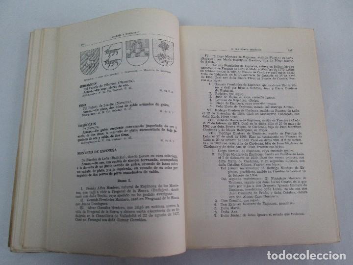 Libros de segunda mano: ARMERIA Y NOBILIARIO DE LOS REINOS ESPAÑOLES. TOMO I-II-III-IV. EDICIONES HIDALGUIA. VER FOTOS - Foto 11 - 110671631