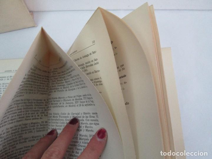 Libros de segunda mano: ARMERIA Y NOBILIARIO DE LOS REINOS ESPAÑOLES. TOMO I-II-III-IV. EDICIONES HIDALGUIA. VER FOTOS - Foto 16 - 110671631