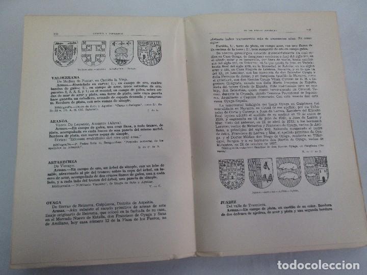 Libros de segunda mano: ARMERIA Y NOBILIARIO DE LOS REINOS ESPAÑOLES. TOMO I-II-III-IV. EDICIONES HIDALGUIA. VER FOTOS - Foto 17 - 110671631