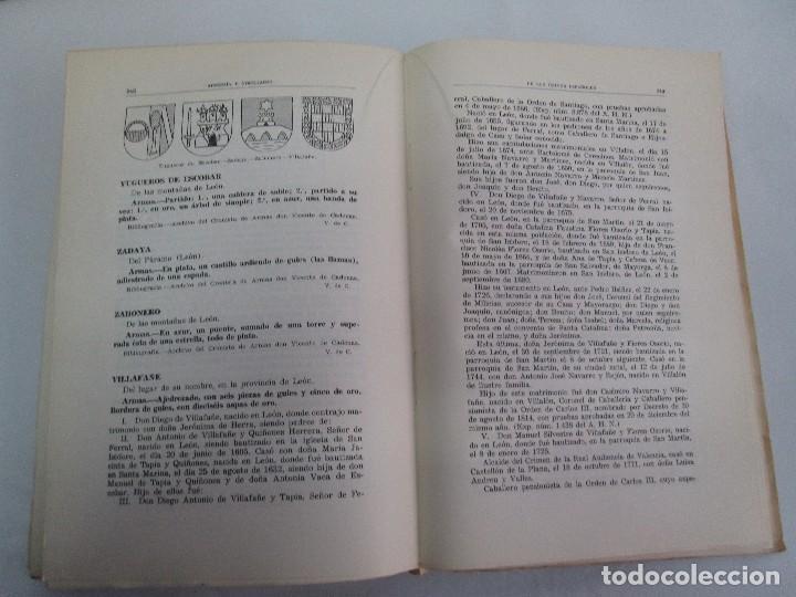 Libros de segunda mano: ARMERIA Y NOBILIARIO DE LOS REINOS ESPAÑOLES. TOMO I-II-III-IV. EDICIONES HIDALGUIA. VER FOTOS - Foto 18 - 110671631