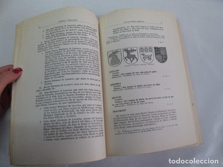 Libros de segunda mano: ARMERIA Y NOBILIARIO DE LOS REINOS ESPAÑOLES. TOMO I-II-III-IV. EDICIONES HIDALGUIA. VER FOTOS - Foto 24 - 110671631