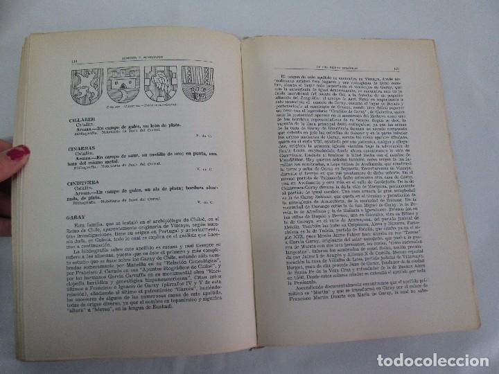 Libros de segunda mano: ARMERIA Y NOBILIARIO DE LOS REINOS ESPAÑOLES. TOMO I-II-III-IV. EDICIONES HIDALGUIA. VER FOTOS - Foto 26 - 110671631