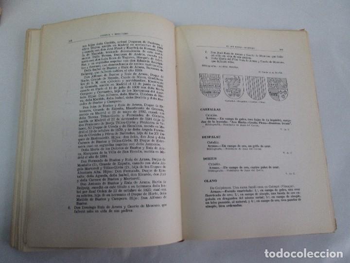 Libros de segunda mano: ARMERIA Y NOBILIARIO DE LOS REINOS ESPAÑOLES. TOMO I-II-III-IV. EDICIONES HIDALGUIA. VER FOTOS - Foto 27 - 110671631