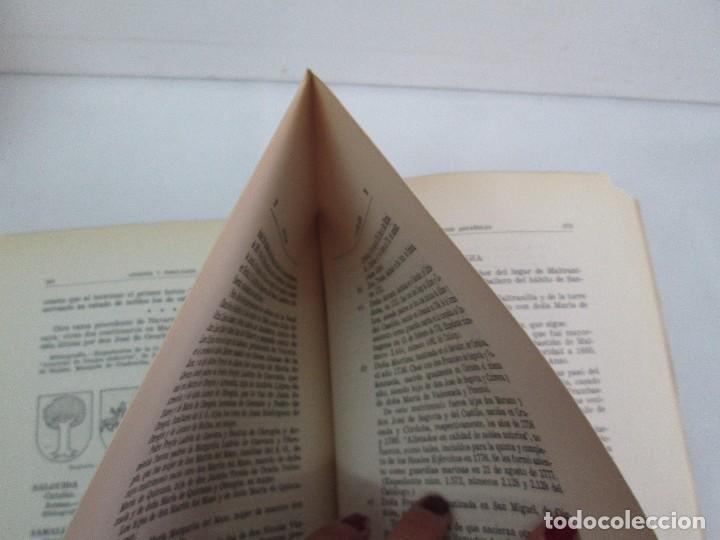 Libros de segunda mano: ARMERIA Y NOBILIARIO DE LOS REINOS ESPAÑOLES. TOMO I-II-III-IV. EDICIONES HIDALGUIA. VER FOTOS - Foto 28 - 110671631
