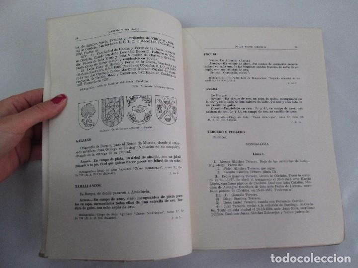 Libros de segunda mano: ARMERIA Y NOBILIARIO DE LOS REINOS ESPAÑOLES. TOMO I-II-III-IV. EDICIONES HIDALGUIA. VER FOTOS - Foto 31 - 110671631